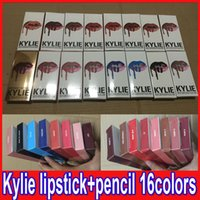 KYLIE JENNER LIP KIT with lip liner pencil Lipkit Velvetine ...