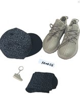 Sneakers 350 Boost Shoes gift (hat+ sock+ keychain)shoes Oxfor...