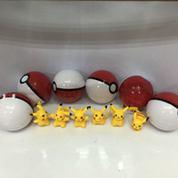 Poke Ball Toys for Kids 12pcs lot ABS Action Anime Figures 7...
