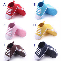 2016 Wholesale 6 Colors Baby Sports Shoes for Girl and Boy H...