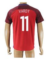Wholesale Thai Quality 11 VARDY Soccer JerseyS Shirts, 2016 N...