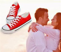 FREE shipping 2014 hot brand new women and men canvas shoes ...