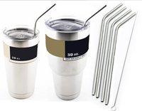 304 Stainless Steel Straw Metal Drinking Straw Beer Juice St...
