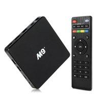 Android 5. 1 Smart 4K TV Box M9 Plus Amlogic S905 TV Boxes Qu...