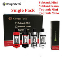 Kanger subtank mini subtank nano toptank mini toptank nano protank 4 atomiseur atomiseur à boîte unique