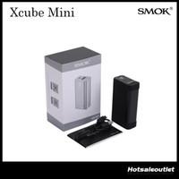 Contrôle de la température authentique Smok X CUBE Mini Mod Smoktech Xcube Mini TC75W Box Mod TC Mod Fit for Smok TFV8 Réservoir 100% Dégagement d'origine