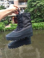 2016 Winter Kanye West Boost 950 Boots Genuine Leather 750 W...