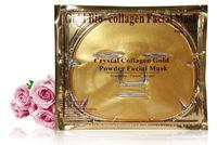 250Pcs lot Gold Bio- Collagen Facial Mask Face Mask Crystal G...