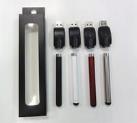 Nouveau O-Pen Vape Bud Touch batterie avec chargeur USB 510 Thread pour CE3 Vaporisateur Pen pour cartouches d'huile de cire E-cigarette Free ship