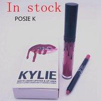 in stock 50pcs lot Kylie Lip Kit by kylie jenner Velvetine L...