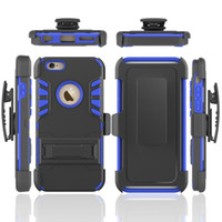 For iPhone 6 6s Plus Fundas Armor Capa Hybrid 3 in 1 Shockpr...