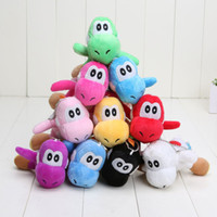 "Super Mario Bros Yoshi Plush Anime 4"" Keychain colors P..."