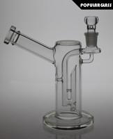 21cm Tall Bongs en verre tube de fumée en verre pompe de diffusion avec joint de rotule en verre taille 18.8mm FC-Rattle Can