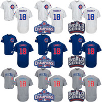 2016 World Series Champions Patch Men' s Chicago Cubs #1...