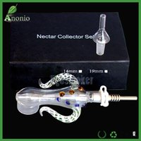 Nectar Collector Kit 4. 0 with 14mm Quartz Tip and Titanium n...