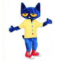2016 brand new Adult Cartoon Mascot Pete The Cat Adult Size ...