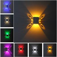Modern home lighting batteryfly 1x3W led wall light Recessed...