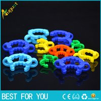 10 14 19mm joint Plastic Keck Clip with Yellow Color Laborat...
