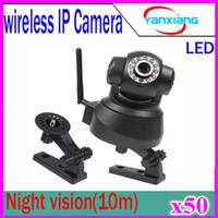 Caméra sans fil Mini IP Wifi Alarme CCTV de détection de mouvement de sécurité PT Caméra vidéo FTP vision nocturne 50 pcs ZY-SX-01
