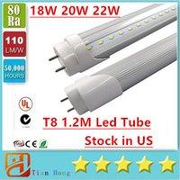 Stock in US + 4ft 1200mm T8 Led Tube Light High Super Bright...