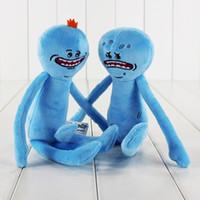 25cm 2 Styles Rick and Morty Happy &Sad Plush Toy Soft Stuff...