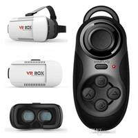 Venta caliente con la videocámara VR BOX Versión VR Virtual Reality Gafas Google Cardboard 3D Movie for smartphoneSmart Phone