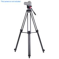 Andoer professionale della lega di alluminio Panorama treppiede fluido idraulico testa Ballhead per Canon Nikon Sony DSLR Camera Video Recorder D2946