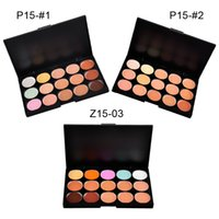 Lady women 15 Color Makeup Eyeshadow Natural Eyeshadow Camou...