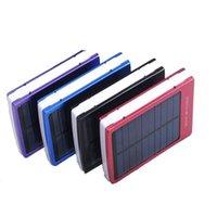 30000 мАч Солнечная батарея банка группы внешних зарядных 30000mah солнечных зарядных портов для iPhone Samsung сотовый телефон