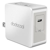 dodocool 30W USB Type-C Power Adapter Wall Charger con 3,3 piedi cavo di ricarica per Apple nuovo MacBook / USB-C PD spina USA DA66