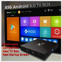X96 Android 6. 0 TV Box 1G+ 8G Amlogic S905X Quad Core Kodi 16...