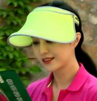 Unisexe Casquette Visière Soleil Wide Brim Protection UV Sun Block Hat Femmes Outdoor Golf Tennis Sports Eté Beach Cap Casquette Angle Wide Ajustable