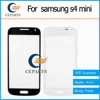 Pour samsung s4 mini Outer Screen Glass Lens remplacement pour Samsung Galaxy S4 Mini i9190 Expédition rapide