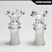 Verre clou bol, en verre clou dome14.4mm 14mm huile de verre bols cuvette de tabac cuvette de joint femelle