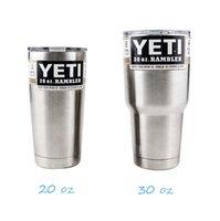 Yeti Cups 30oz 20oz Cooler 304 Stainless Steel YETI Rambler ...