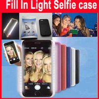 Fill in light phone selfie case for iphone6 6s 6plus with LE...