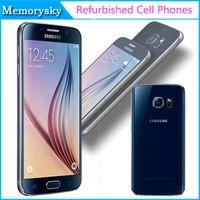 Reformado original Samsung Galaxy S6 Octa Core 3 GB de RAM 32 GB ROM abrió el teléfono celular 16MP ATT T-Mobile Sprint Verizon oro blanco negro
