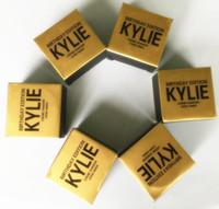 на складе Дженнер Kit день рождения Выпуск тени для глаз тени для век крема Kyshadow Косметика для бровей порошок марки голый макияж меди розового золота