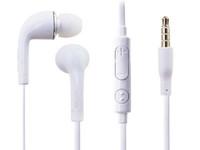 NOUVEAU écouteur intra auriculaire écouteurs intra-auriculaires écouteurs blanc / noir avec micro et télécommande pour Samsung Galaxy s7 bord Note 7