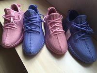 Original Yeezy boost 350 Purple For Valentine Outdoor Shoes ...