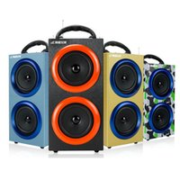 Haut-parleurs sans fil Bluetooth sans fil Haut-parleurs de sports d'extérieur Mains libres avec support de micros TF Card Radio FM Haut-parleurs luxueux de luxe MIS130