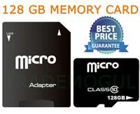 Tarjeta de la tarjeta 006 de 128 GB Clase 10 SDHC Micro SD TF 007 de memoria SD 128G para los teléfonos inteligentes de envío libre de DHL Netbooks