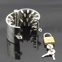 Stainless steel Mike' s Spikes Ball Stretcher Bondage Co...
