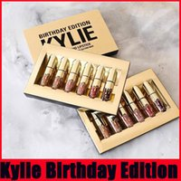 6pcs set Kylie Jenner Lipkit Limited Edition Birthday CONFIR...