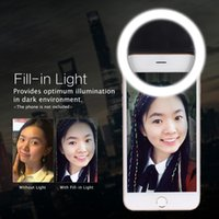 Mettle clip-on compatta Mini 36pcs LED Bead selfie Auto Anello Ritratto Fill-in Pocket luce CRI95 + 3-mode per iPhone Samsung Smartphone D4023