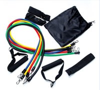 Outdoor Sports Latex Resistance Bands Workout Exercise Pilat...