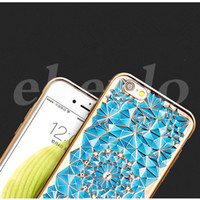 New Design TPU Diamond Colorful Case For iphone 6s plus Sams...