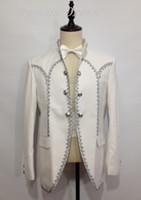 Unique Design Blazer Man Suit Wedding Dresses Notch Lapel Th...