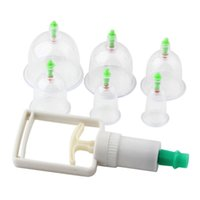 6 Cups Traditional Personal Care Medical Vacuum Body Cupping...