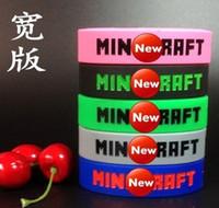 2016 hot sale silicone bracelet Silicone bracelet wide versi...